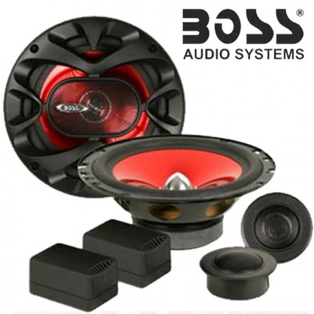 boss audio ch6ck haut parleurs kit clat 2 voies 350w. Black Bedroom Furniture Sets. Home Design Ideas