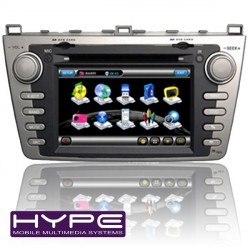 HYPE HH8912GPS AUTORADIO 2 DIN GPS DVD SD IPOD COMPATIBLE MAZDA 6
