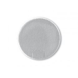 GRILLE HAUT-PARLEUR UNIVERSELLE D100 RONDE BLANCHE (4217B) PAIRE