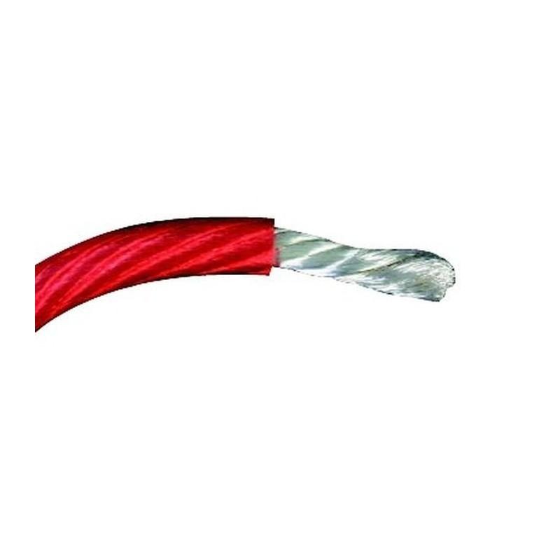 bobine de fil electrique 1mm2 100m rouge mediacarcenter. Black Bedroom Furniture Sets. Home Design Ideas