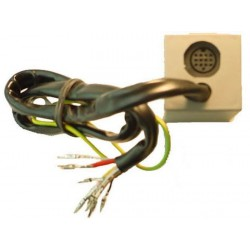 CABLE SPECIFIQUE CD-AUTORADIO AUDI A4 2001 - CLARION
