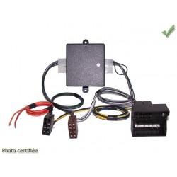 FAISCEAU AUTORADIO AUDI 2007 ET + FAKRA ET + ISO 4X40W SYSTEME AMPLIFIE NON BOSE