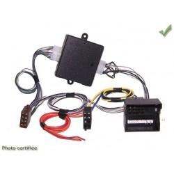 FAISCEAU AUTORADIO AUDI 2007 ET + FAKRA ET + ISO 4X40W SYSTEME AMPLIFIE BOSE