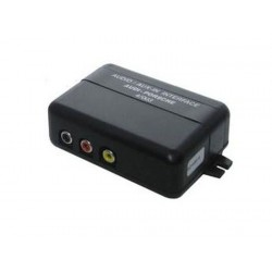 INTERFACE POUR CONNECTER SOURCE AUDIO VIDEO SUR AUTORADIO ORIGINE