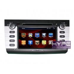 HYPE HSB7512GPS Autoradio 2 DIN GPS 18cm DVD DivX USB SD iPod pour SUZUKI SWIFT