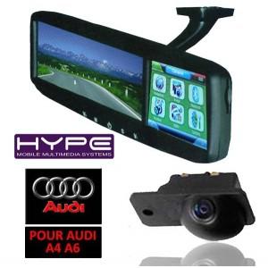 hype hv4321ca587 retroviseur gps camera de recul audi ebay. Black Bedroom Furniture Sets. Home Design Ideas