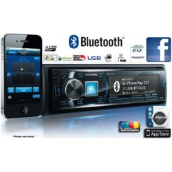 AUTORADIO MP3 ALPINE CDE-178BT