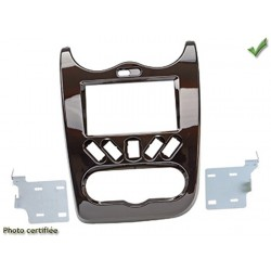 KIT 2 DIN DACIA DUSTER 2010 2012 SANDERO 2008 2012 MARRON