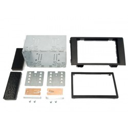 KIT 2 DIN IVECO DAILY 2007 2009 NOIR