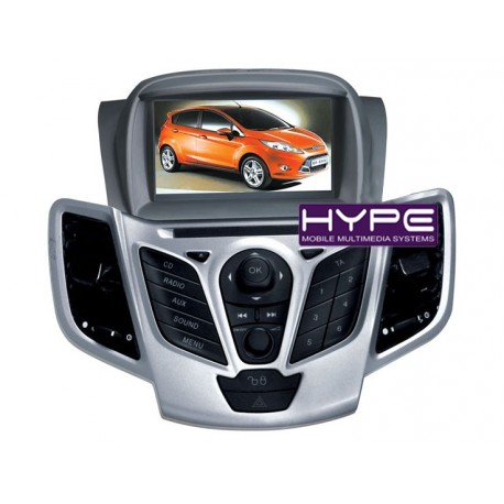 hype hsb2938gps autoradio 2 din gps 18cm dvd divx usb sd pour ford fiesta. Black Bedroom Furniture Sets. Home Design Ideas