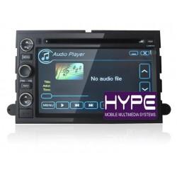 HYPE HSB7150GPS Autoradio 2 DIN GPS 18cm DVD/DIVX USB SD Pour FORD