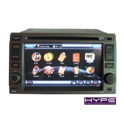 hype hsb8906gps autoradio 2 din gps 16cm dvd ipod usb sd pour hyundai santafe elantra azera. Black Bedroom Furniture Sets. Home Design Ideas
