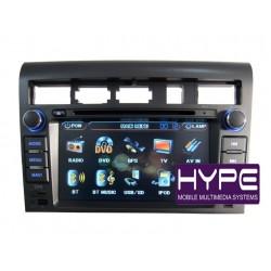 HYPE HSB7066GPS AUTORADIO 2 DIN GPS 18CM DVD DIVX USB SD POUR KIA OPIRUS