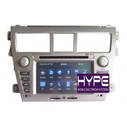HYPE HSB6825GPS Autoradio 2 DIN GPS 16cm DVD IPOD USB SD Pour TOYOTA