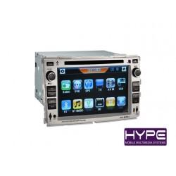 HYPE HSB2908GPS AUTORADIO 2 DIN GPS 16CM DVD DIVX USB SD POUR KIA CERATO