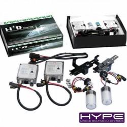 HYPE HIDKIT1 KIT CONVERSION XENON H1 PHARE LAMPE FEUX AMPOULE HID 8000K