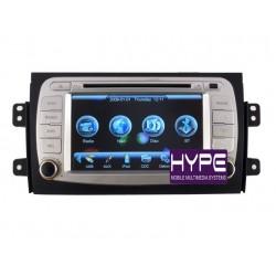 HYPE HSB6830GPS Autoradio 2 DIN GPS 18cm DVD DIVX USB SD IPOD Pour SUZUKI SX4