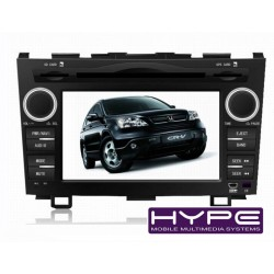 HYPE HSB7721GPS Autoradio 2 DIN GPS 18cm DVD IPOD USB SD Pour HONDA CRV