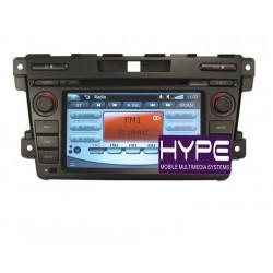 HYPE HSB7975GPS AUTORADIO 2 DIN GPS DVD SD IPOD COMPATIBLE MAZDA CX7