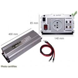 SURVOLTEUR 24V 220V 50 Hz 1500 W