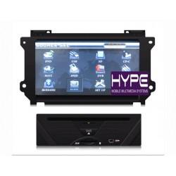 HYPE HSB8090GPS Autoradio 2 DIN GPS 20cm DVD IPOD USB SD Pour NISSAN TEANA