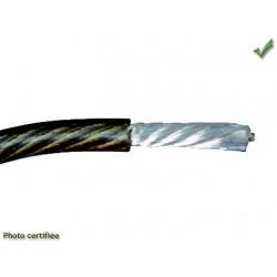 BOBINE DE FIL ELECTRIQUE 1mm2 10M NOIR