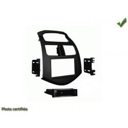 Facade autoradio chevrolet spark 2013 simple din ou double din noir mat