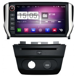 Autoradio GPS Wifi Bluetooth Android Peugeot 208 & 2008