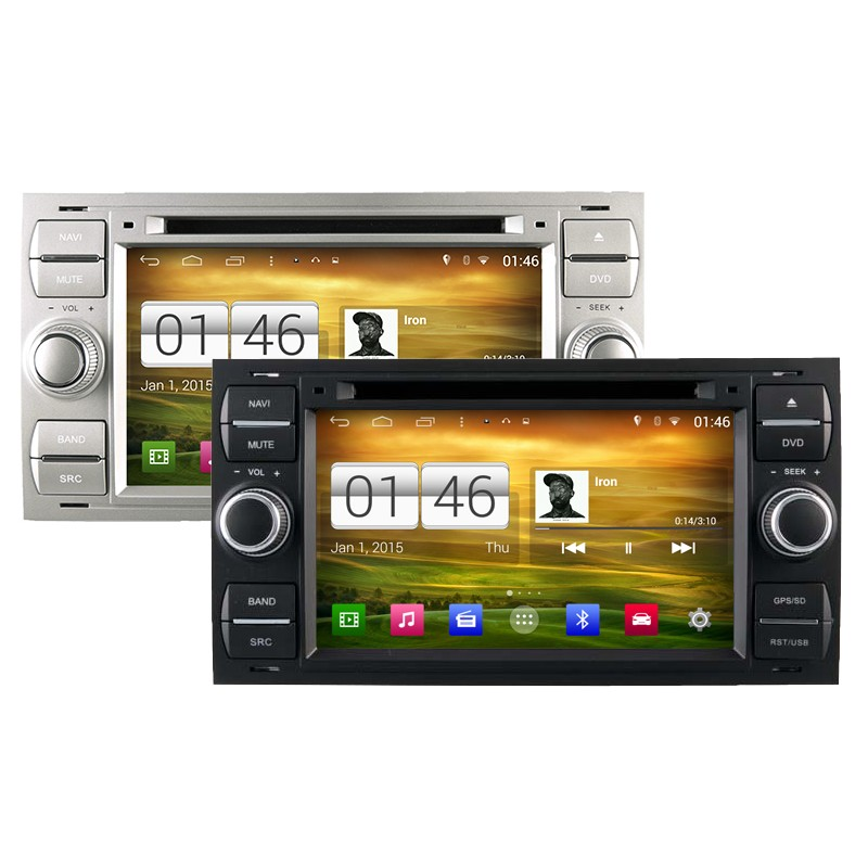 autoradio android 444 wifi gps waze ford kuga c max s max fiesta focus fusion transit mondeo. Black Bedroom Furniture Sets. Home Design Ideas