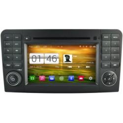 Autoradio GPS Android Mercedes Benz ML W164 & GL X164 de 2005 à 2012