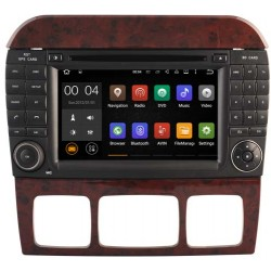 AUTORADIO GPS MERCEDES BENZ CLASS S W220 ANDROID OU WINDOWS