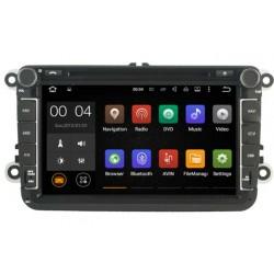Autoradio Android 5.1 GPS Volkswagen Golf 5, Golf 6, Beetle, Eos, Touran, T5, Tiguan, Polo, Caddy, Passat, Jetta, Amarok, Sharan