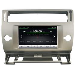 AUTORADIO GPS CITROEN C4 ARGENT