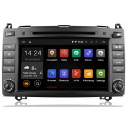 AUTORADIO GPS MERCEDES Classe B A VITO VIANO SPRINTER ANDROID OU WINDOWS