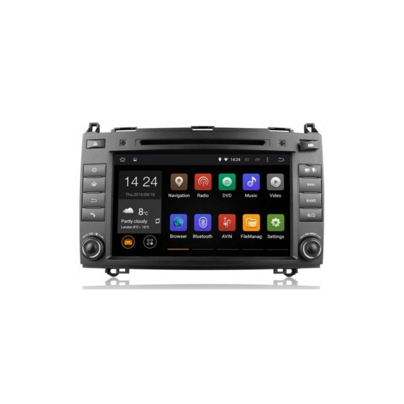 hype hsb8968gps autoradio 2 din usb gps dvd mercedes classe b a vito viano sprinter. Black Bedroom Furniture Sets. Home Design Ideas
