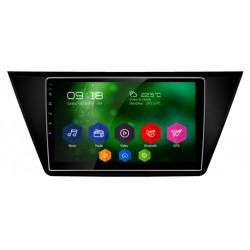 "Autoradio Android 6.0 GPS Volkswagen Touran - Grand écran tactile 10,2"""