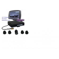 HSBRD735 Radar avec caméra et 3,5 pouces LCD moniteur