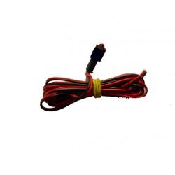 DIODE LED CLIGNOTANTE 12V 5mm ROUGE CLIPS
