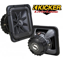 KICKER S12L7 Subwoofer carré 30cm double bobine 1500W