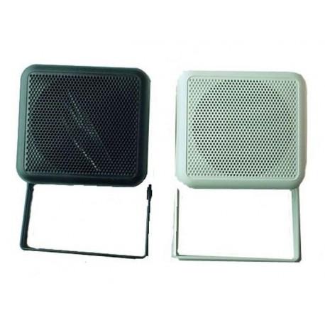 HAUT-PARLEUR BOX D100 2 VOIES 60W BLANC (XL100+51028Bx2)