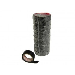 RUBANS ADHESIFS ISOLANTS SCOTCH PVC x10 ROULEAUX NOIR 15mm X10M