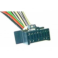 CABLE SPECIFIQUE AUTORADIO ISO PANASONIC 16 pins 22 x 11