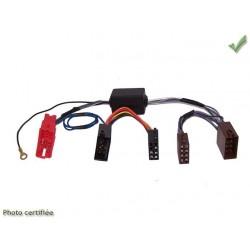 FAISCEAU AUTORADIO AUDI 1998 ET + 4X40W SYSTEME AMPLIFIE NON BOSE MINI ISO-ISO
