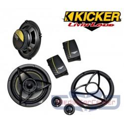 KICKER DS650.2 HAUT-PARLEURS 2 VOIES 16.5CM 120W
