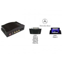 INTERFACE SOURCE AUDIO VIDEO SUR AUTORADIO ORIGINE MERCEDES COMAND APS