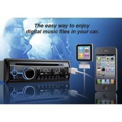 AUTORADIO CLARION CZ202E CDMP3WMA ENTREE AUX USB IPOD IPHONE 4x45W
