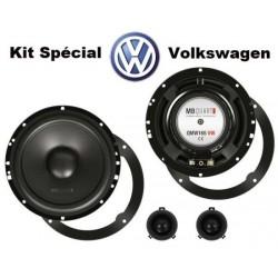 Haut Parleurs sur mesure MB QUART QM-165 VW
