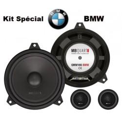 Haut Parleurs sur mesure MB QUART QM-165 E46 BMW