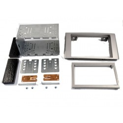 KIT 2 DIN IVECO DAILY 2009 2011 GRIS