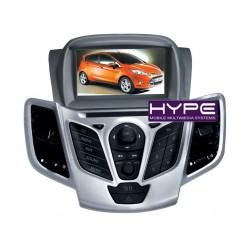 HYPE HSB2938GPS AUTORADIO 2 DIN GPS 18CM DVD/DIVX USB SD POUR FORD FIESTA
